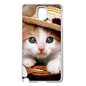 Case Of Lovely Cat customized Bumper Plastic case For samsung galaxy note 3 N9000
