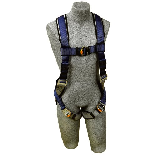 3M DBI-SALA ExoFit Vest-Style Fall Protection Harness Construction 1107976 Back D-ring, Medium, 1 EA