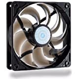 Cooler Master SickleFlow 120 - Sleeve Bearing 120mm Silent Fan for Computer Cases, CPU Coolers, and Radiators (Smoke Color)