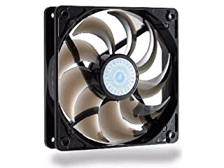 Cooler Master SickleFlow 120 - Sleeve Bearing 120mm Silent Fan for Computer Cases, CPU Coolers, and Radiators (Smoke Color) (B0026ZPFDE) | Amazon Products