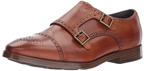 Cole Haan Men's Jefferson Grand Double Monk II, British Tan, 11.5 Medium US