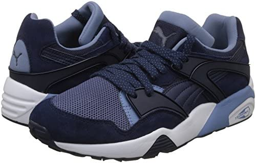 Puma Men s Blaze Peacoat-Blue Indigo-Infinity White Sneakers-10 UK India.  Loading images... Back. Double-tap to zoom 4f3071ed0