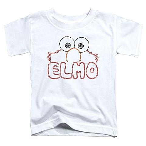 Sesame Street Elmo Letters Toddler T-Shirt 2T - Elmos Letter