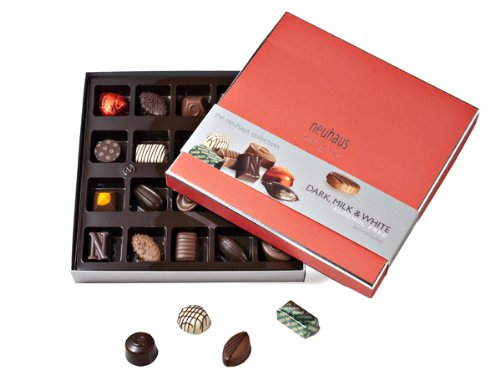 Gourmet Chocolate Truffles (The Neuhaus Collection - Assorted Dark, Milk & White)