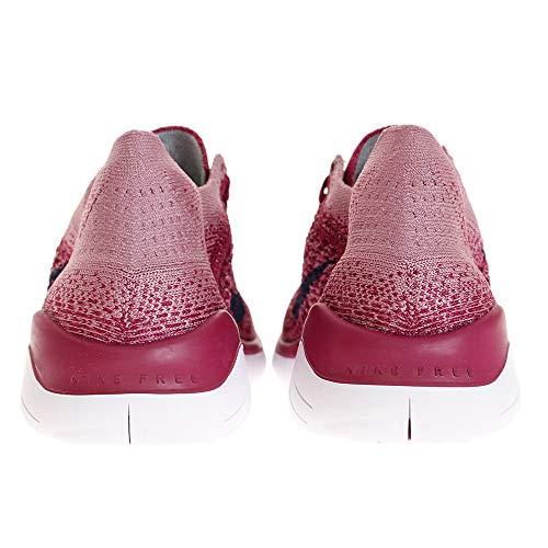 Rojo Rn Mujer De Atletismo Zapatillas Flyknit Nike 2018 Wmns Free Para qw7qUx4