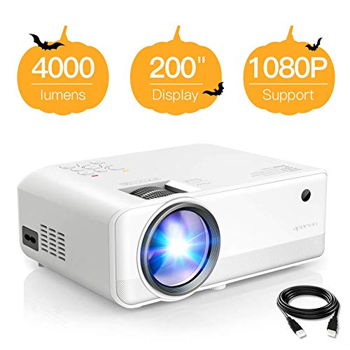 Every Halloween Movie In 2 Minutes (Projector APEMAN Mini Video Projector 4000 Lumen 1080p Supported LED Portable 50000 Hrs with Dual Built-in Speakers Support HDMI/TF/USB/RCA, Laptop/TV Stick/iOS/Android for Home Movie[2019)