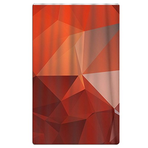 FSKDOM Large Oversized Microfiber Beach Towel Blanket Orange