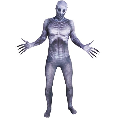 Morphsuits Men's Zalgo Monster Adult Fun Costume, The Rake, Large