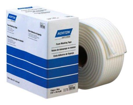 Norton 662544-70735 13mm x 50m Foam Masking Tape