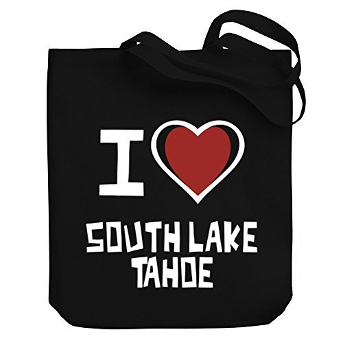 Valentine Herty Shopping bag I love South Lake Tahoe Canvas Tote - Lake South Tahoe Shopping
