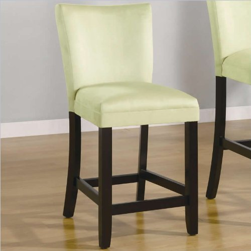 Modern Green Counter Height Chair (Set of 2) by Coaster Furniture