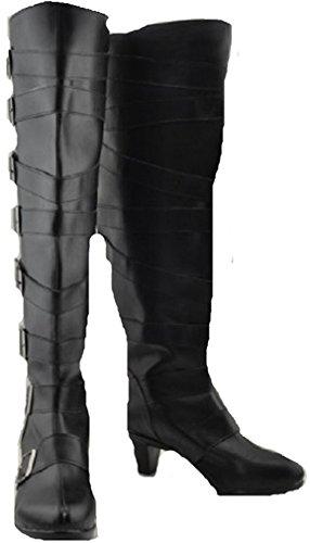 Mister Bear Black Butler Kuroshitsuji Undertaker Cosplay Costume Boots Boot Shoes Shoe]()
