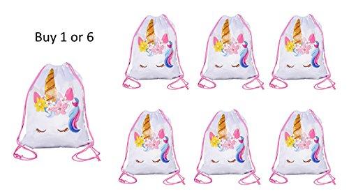 Large Size Unicorn Drawstring Bag 6 G/&N Merchandise Overnight Bag Unicorn Party Favor Bag
