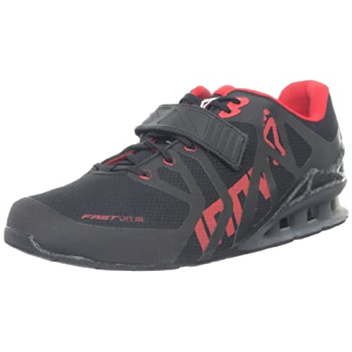 Inov-8 Men's Fastlift 335 Cross-Training Shoe,Black/Red/Carbon,12.5 M US