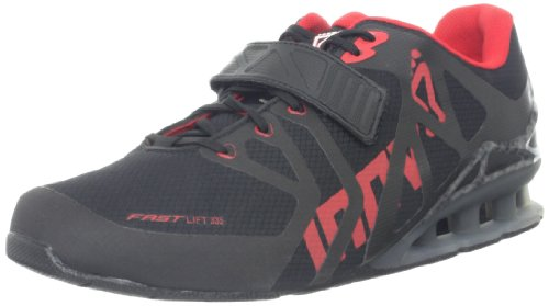 Inov-8 Men's Fastlift 335 Cross-Training Shoe,Forest/Black/Red/Lime,10 E US/11.5 E US Women's