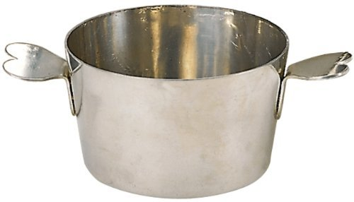 Aspic Mold - Matfer Bourgeat 341427 Charlotte Molds Stainless Steel without Lid