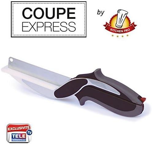 2/in1 ideales K/üchenwerkzeug zum Schneiden Kitchen Pro Expressschneider das Original