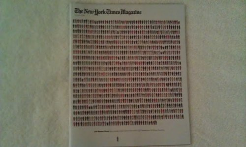 The New York Times Magazine - November 13, 2011 - The Human Swap (How a single Israeli came to be worth 1,027 Palestinians. By Ronen Bergman)