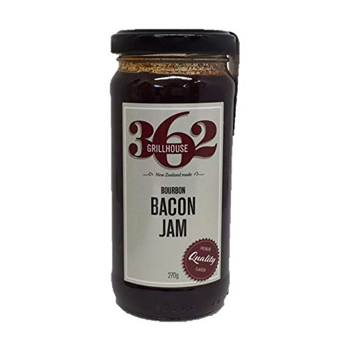 Bourbon Bacon Jam, Hand Made in Small Batches by 362 Grillhouse