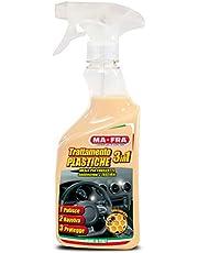 Mafra, 3-w-1 środek do czyszczenia tworzyw sztucznych, oczyszcza, odświeża przestrzeń pasażerską i chroni je, tworzy barierę UV, ilość 500 ml