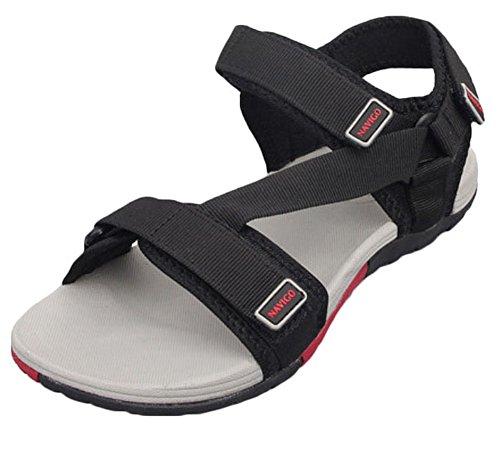 Sandali Donna Uomo Nero Da Scarpe Pantofole FY5fwzq5