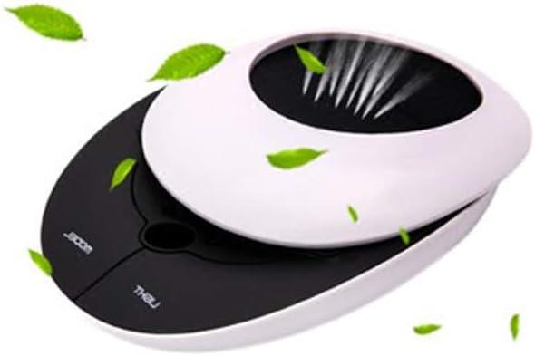 LUCKYGBY Purificador de Aire para Hogar Oficina,Generador de Iones/Función de Aromaterapia, Polvo, Humo, Caspa de Mascotas,Olor, PM2.5 para el Escritorio de Oficina de Coche y Dormitorio: Amazon.es: Hogar
