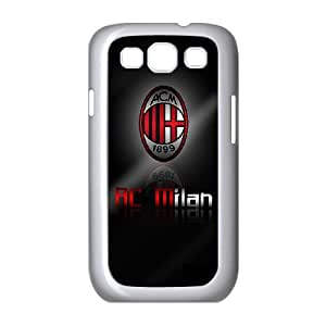Samsung Galaxy S3 9300 Cell Phone Case White AC Milan Football Fipw