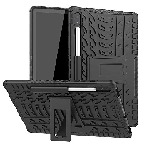 Cassby Poly Carbonate Back Cover for Samsung Galaxy Tab S6 T860   Black