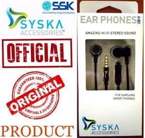 62581d75eba Syska Ear Phone H002: Amazon.in: Electronics