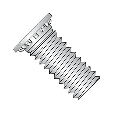 Carton: 3,000 pcs 10-32 x 1//2 Self Clinching Studs//Stainless Steel