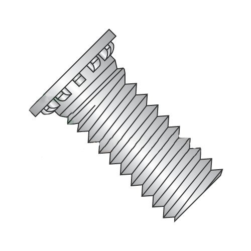3//8-16 x 1 Self Clinching Studs//Stainless Steel Carton: 250 pcs