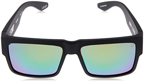 POLARIZED sol BLACK BRONZE SPY Gafas SPECTRA de GREEN MATTE cirus HAPPY pZHvw