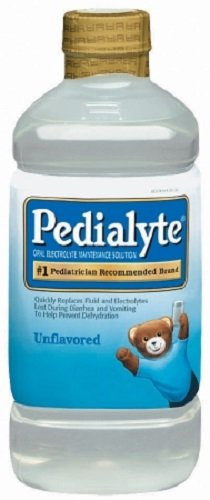 1l Part (Pedialyte Unflavored, Retail 1 Liter Bottle Part No. 00336 Qty : 1 Bottle)