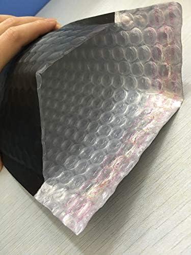 impermeabili colore nero Out Size 20x28cm Nero opaco autosigillanti Buste da lettere nere opache imbottite
