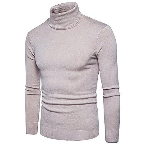 Langmotai Sweater Men S Long Sleeve Turtleneck Sweater Men S Fall Winter  Comfort Soft Pullover Men S Sweaters Sweaters  Amazon.co.uk  Sports    Outdoors 770c2c935