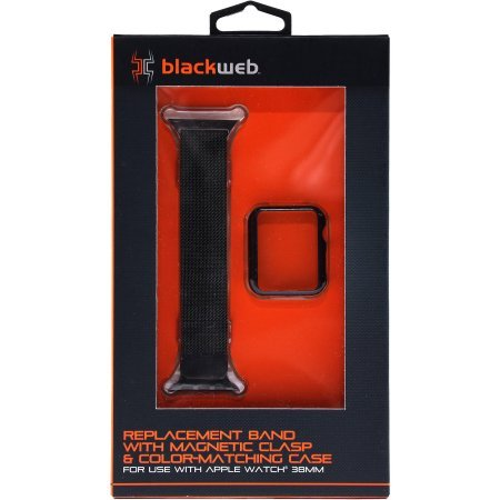 pretty nice b9d8c 9ac85 Amazon.com: Blackweb Replacement Band with Magnetic Claso & Case for ...