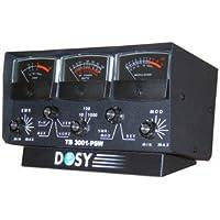 Dosy TB-3001PSW 3 Window 1,000 Watt Lighted Meter with Black Meters