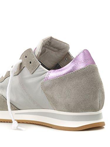 Colore Grigio Philippe 1114 in Paris Sneaker Model Tela TRLD Tropez e Rosa Modello Donna 2018 Pelle xqvxUFwSp