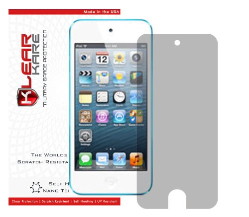 KlearKare Bulk Invisible Screen Shield Protector for Apple Ipod Touch 5 | Military Grade Scratch Protection (Invisibleshield Ipod Touch 5)