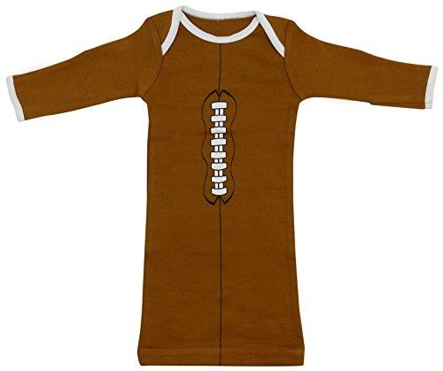Babyball Clothing Unisex Baby Football Long Sleeve Layette Newborn 0-3 Months