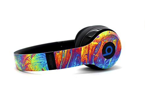 Beats by Dre Solo 3 Wireless - Custom Dr. Dre Headset - Design (Oil Splatter) by Yactronix