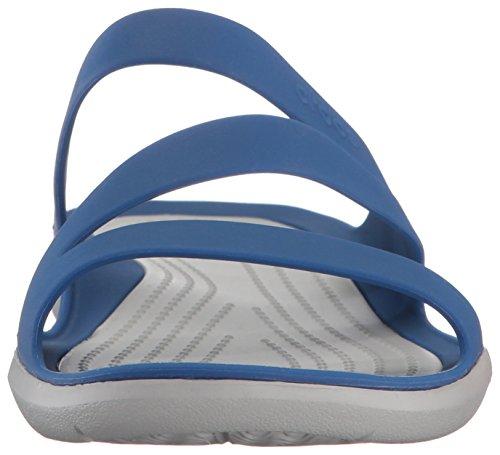203998 Chanclas Mujer Crocs 203998 Crocs Blau q0w1aRE