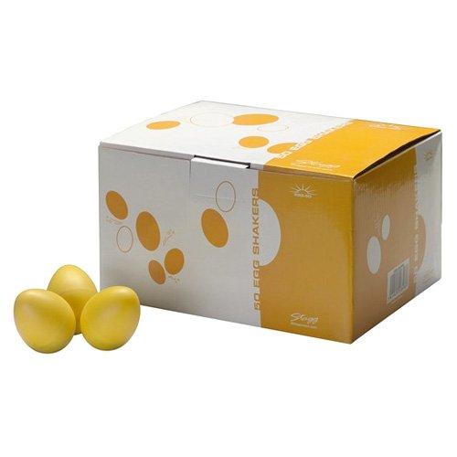 Yellow matt Stagg EGG-50 YWM Egg Shaker Box