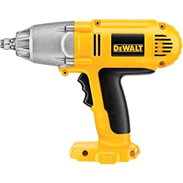 DeWalt Bare-Tool DW059HB 1/2 18-Volt Cordless Impact Wrench with Hog Ring Anvil (Tool Only, No Battery)