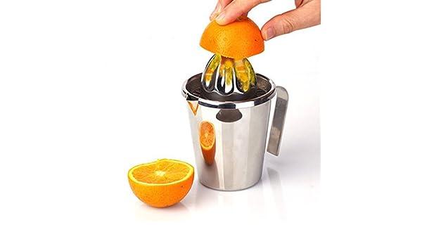 CPDZ Exprimidor de Jugo de limón con un Proceso de prensado en frío Exprimidor de Jugo de Naranja o Zumo de Naranja de Granada de Cocina o Comedor: Amazon.es: Deportes y aire