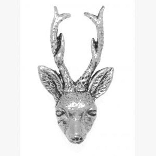 de grabada de ciervo de de regalo Idea caja peltre TzFdTq
