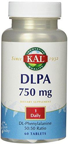 KAL DLPA Tablets, 750 mg, 60 Count