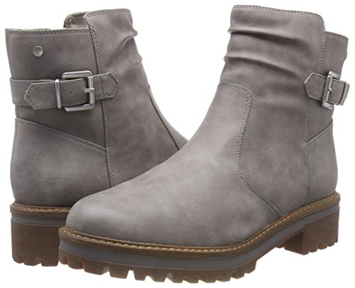 200 Grey grey Tamaris 26467 Boots Ankle Women''s 21 nTqwn1x78H