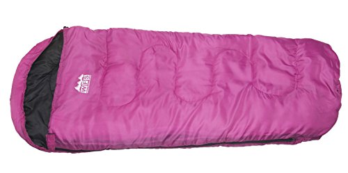 World Famous Sports 40 Degree Mummy Youth Sleeping Bag