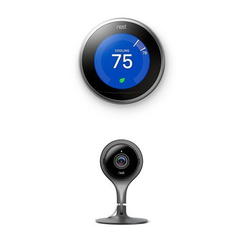 Nest Thermostat and Security Camera Bundle